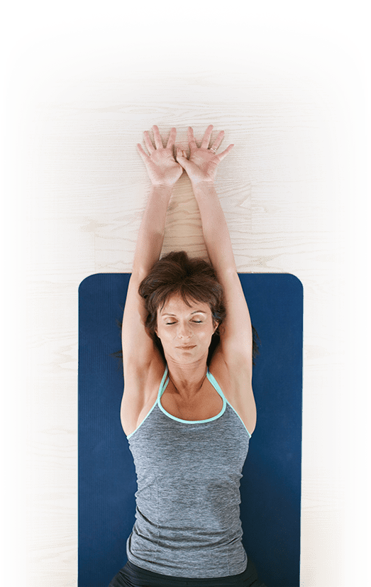 Fitness Woman on Yoga Mat